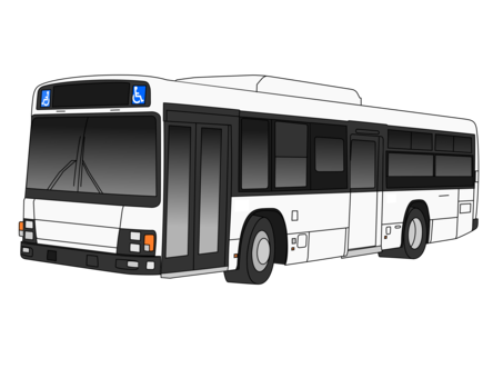 Transport drawing transit bus. Trolley public free commercial