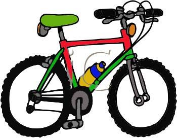 Transportation clipart bycicle. Mountain bike at getdrawings