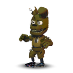 Trap vector springtrap. Accurate adventure by firehammerbro