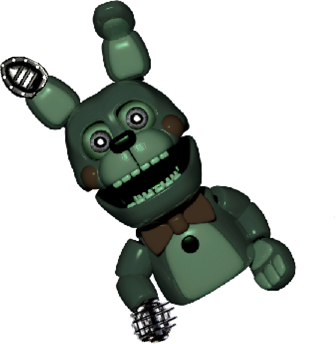 Trap vector springtrap. Hand puppet by emeraldcreepergaming