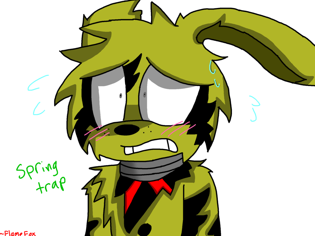 Trap vector springtrap. Spring by sparkthehedgie on