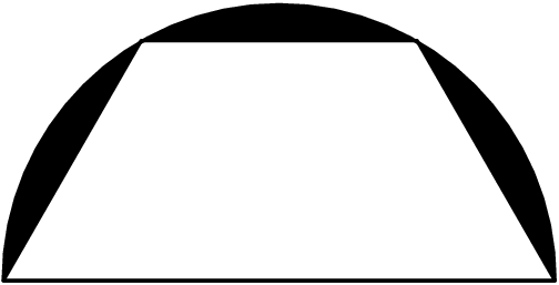 Trapezoid filled in black png. View question geo the
