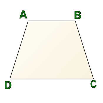 Trapezoid filled in black png. Trapezoids and perpendicular sides
