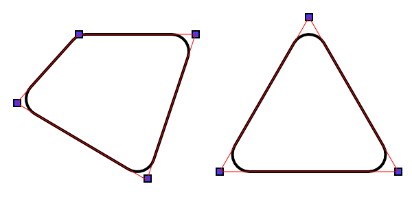 Trapezoid rounded png. C algorithm for creating