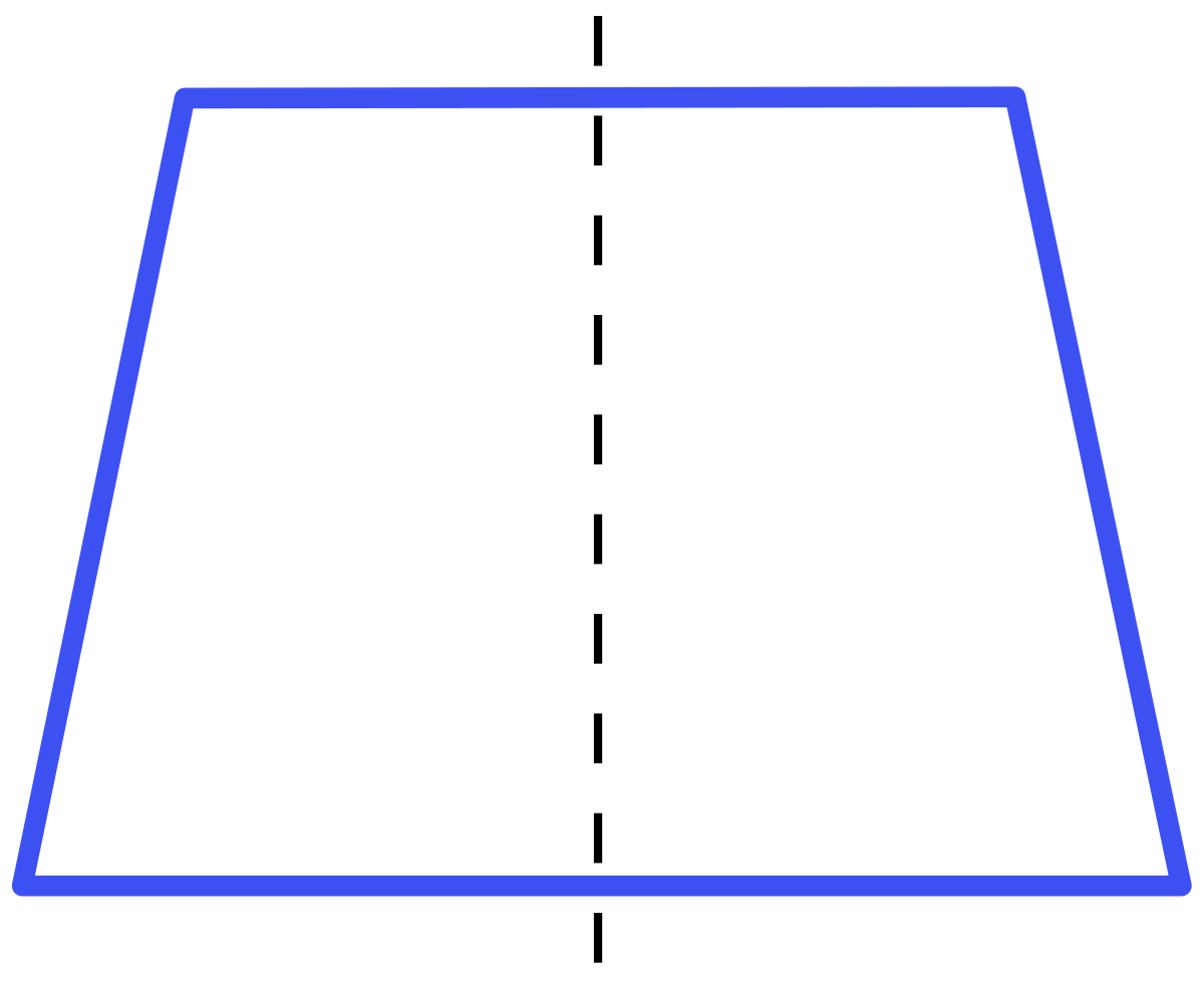 Right angle trapezoid png