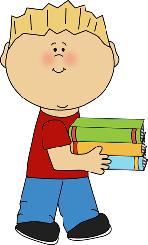 Caboose clipart mycutegraphics. Boy carrying school books