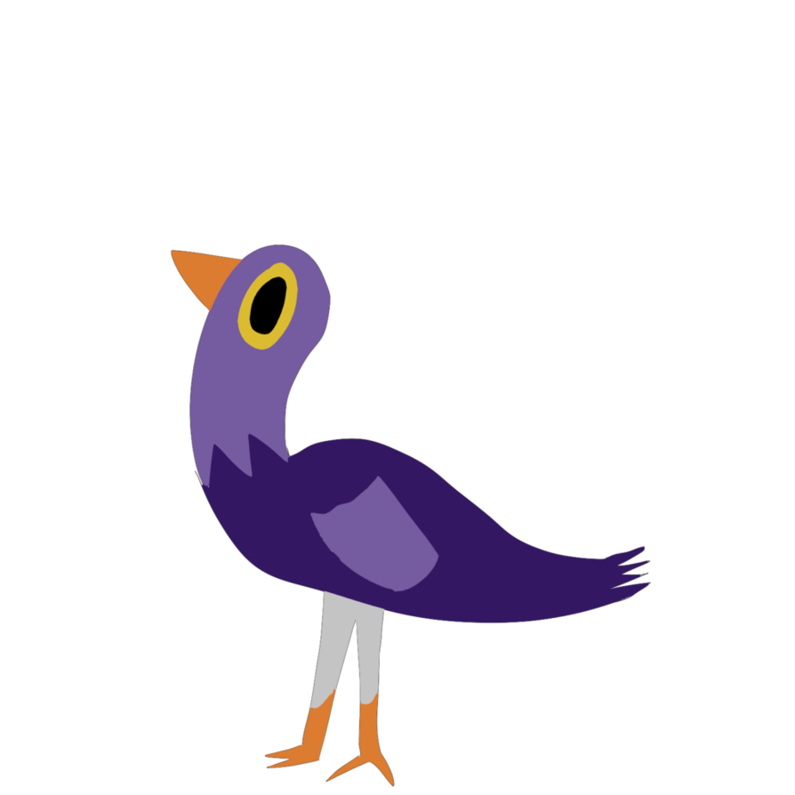 Trash dove png. By kr tical on