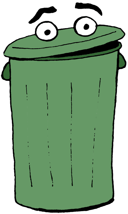 Trashcan animated png. Collection of open