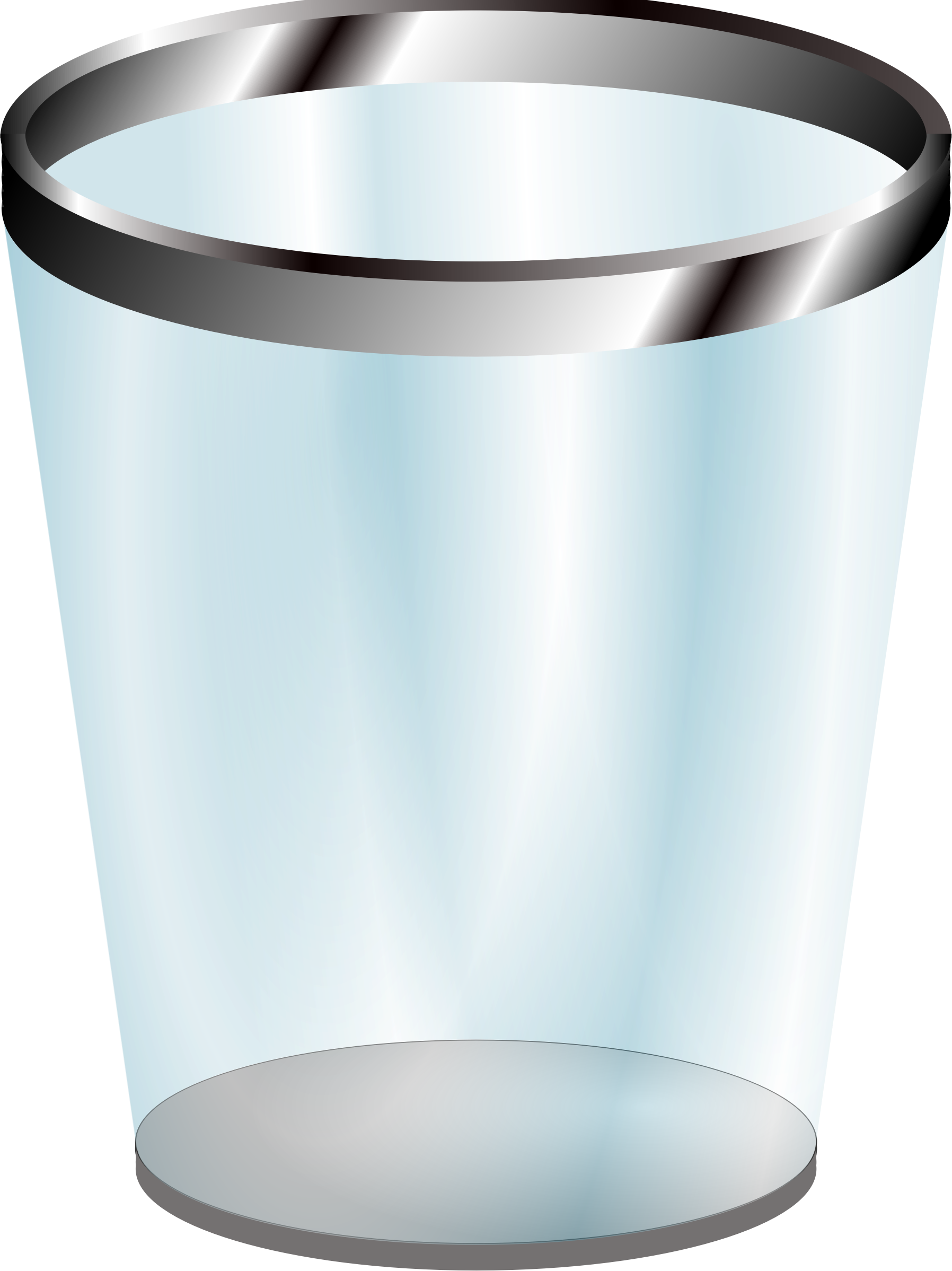 Transparent trashcan. Trash can png image