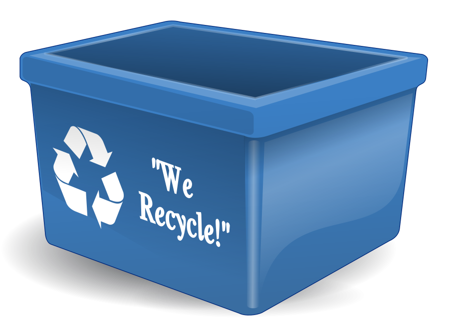 Trashcan clipart public hygiene. Free recycle image download