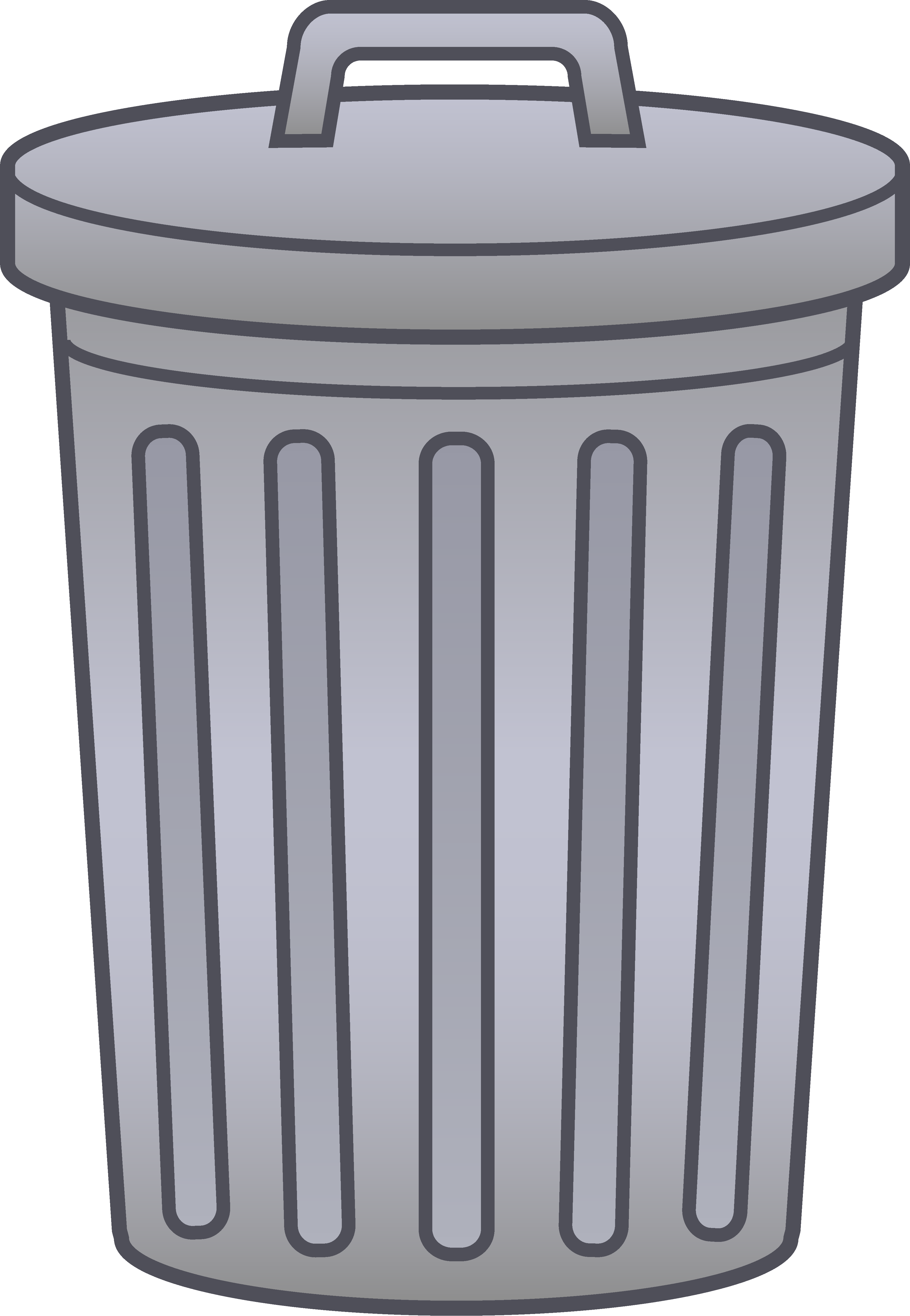 trashcan clipart garbage place