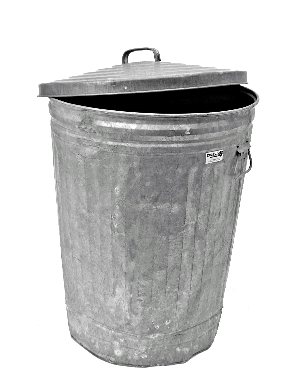 Transparent trashcan. Trash can metal png