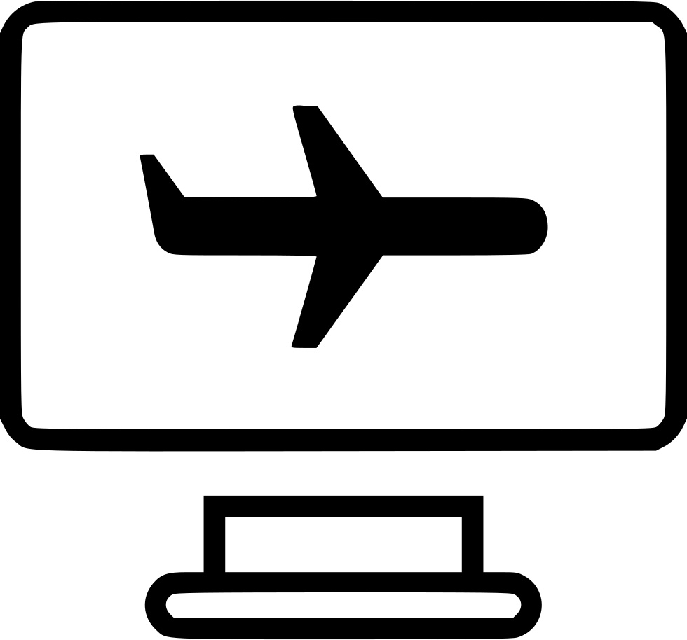 Airline Airplane Air Travel Website Svg Png Icon Free Download