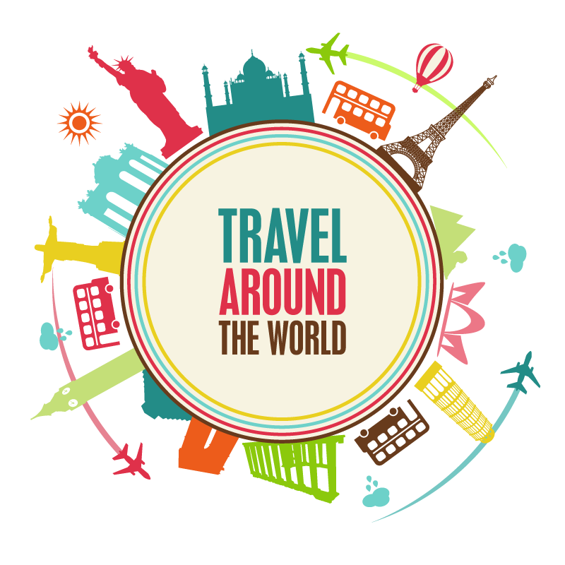 Travel background png