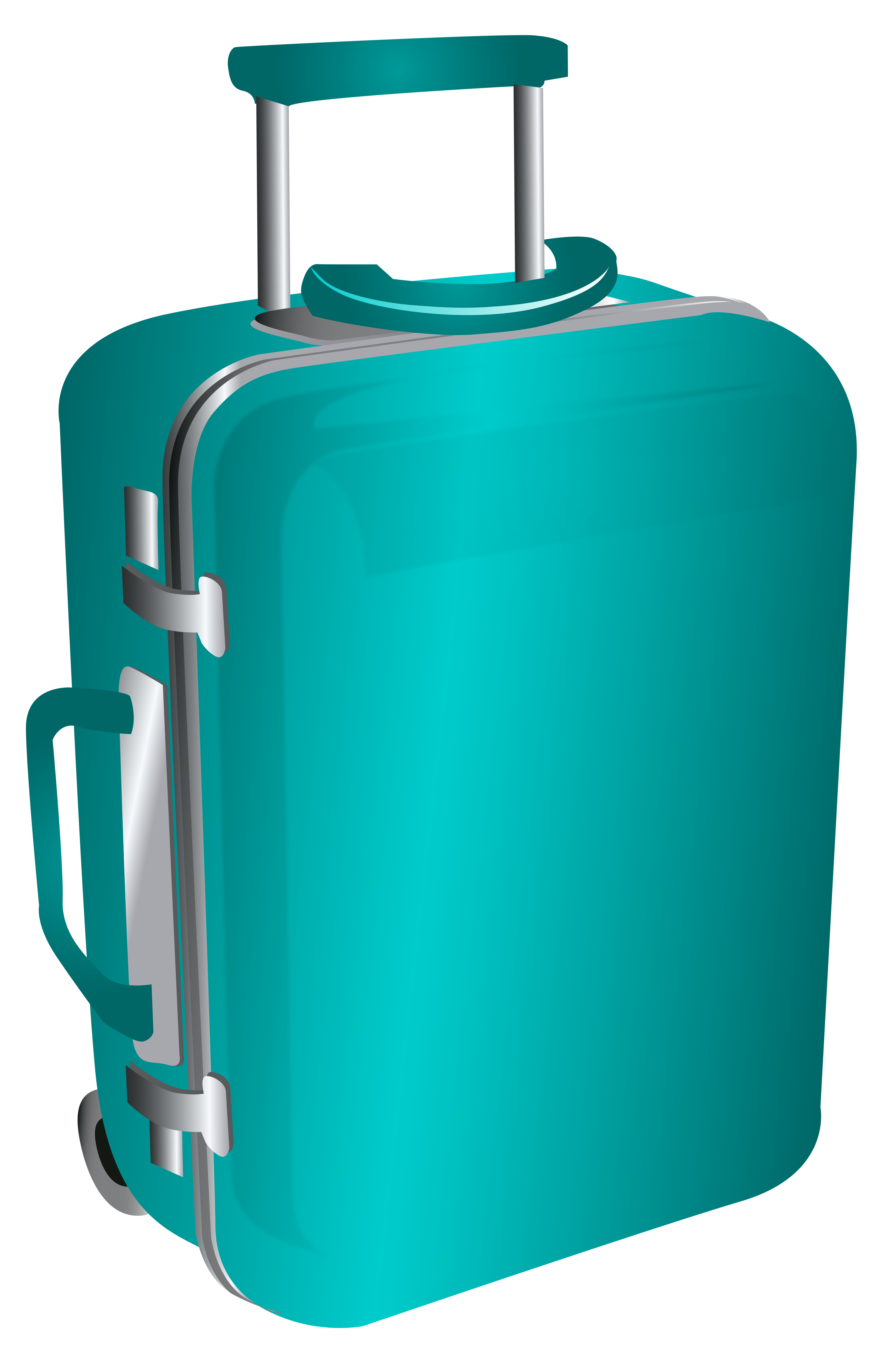 Blue trolley bag png. Travel clipart travel case clip art black and white library