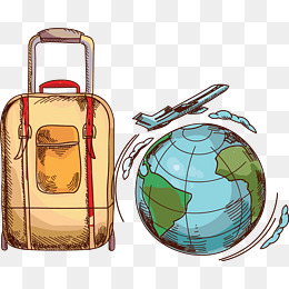 Bag png images vectors. Travel clipart travel case clip freeuse library