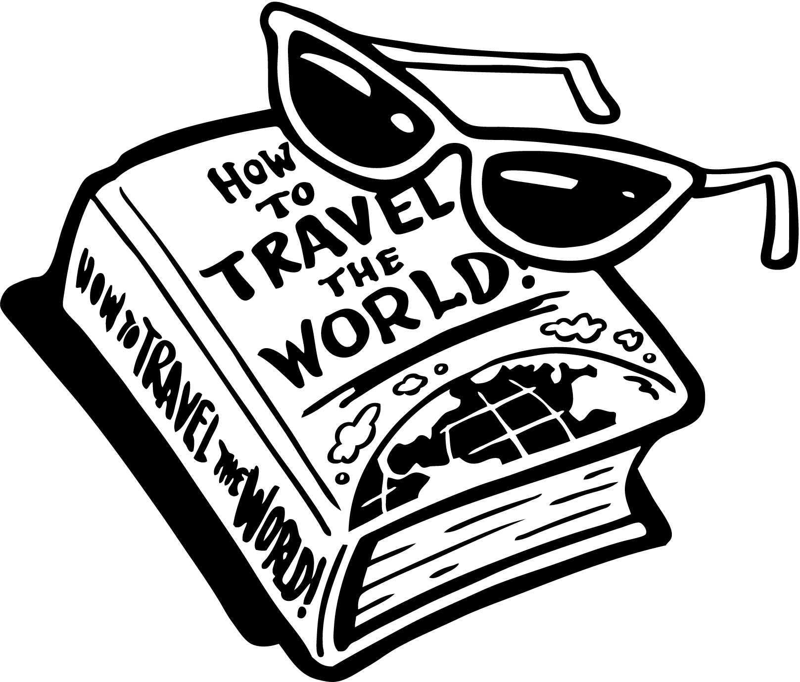Travel clipart travel guide. Beautiful ideas