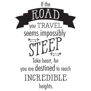 Travel quotes png. If the road you