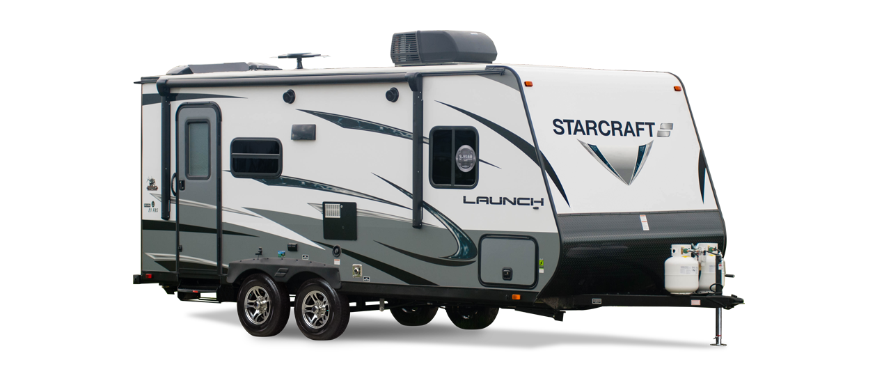 Travel trailer png. Launch outfitter expandable trailers