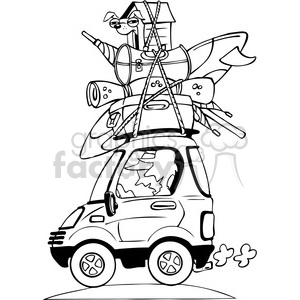 Traveling clipart black and white. Royalty free vacation travel