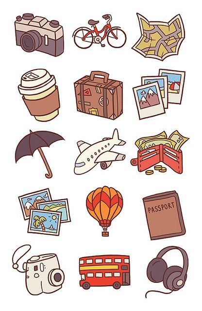 traveling clipart travel sticker