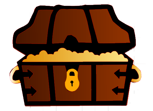 Svg boxes treasure. Chest silhouette at getdrawings