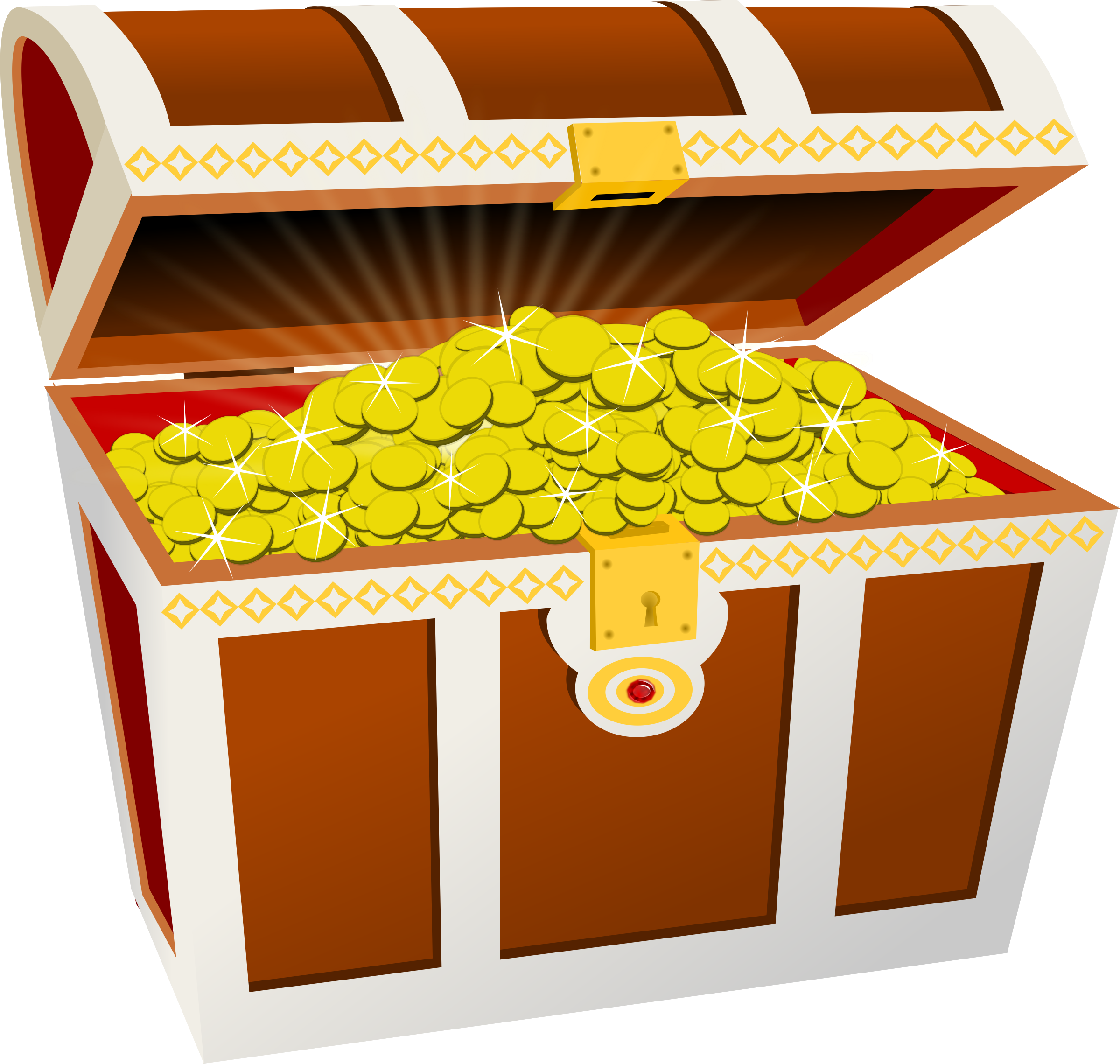 Treasure clipart big. Chest image png