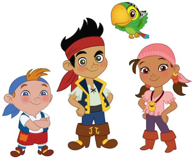 Treasure clipart jake and the neverland pirates. Pencil in