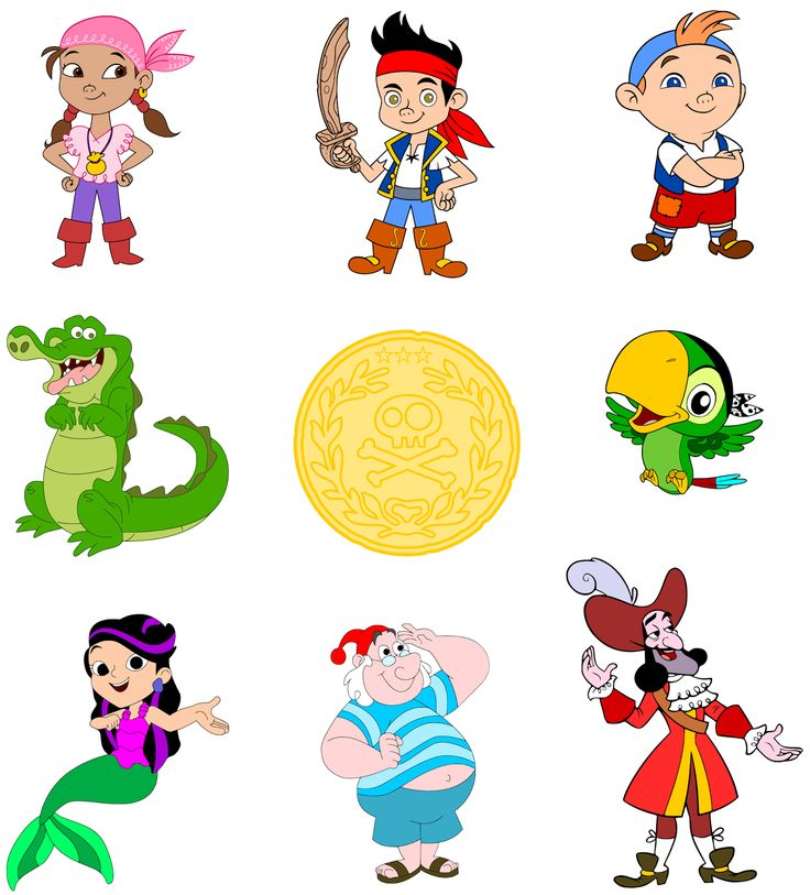 Treasure clipart jake and the neverland pirates. Best pirata images