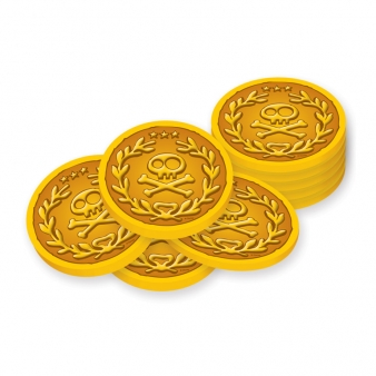 Treasure clipart jake and the neverland pirates. Never land gold coins