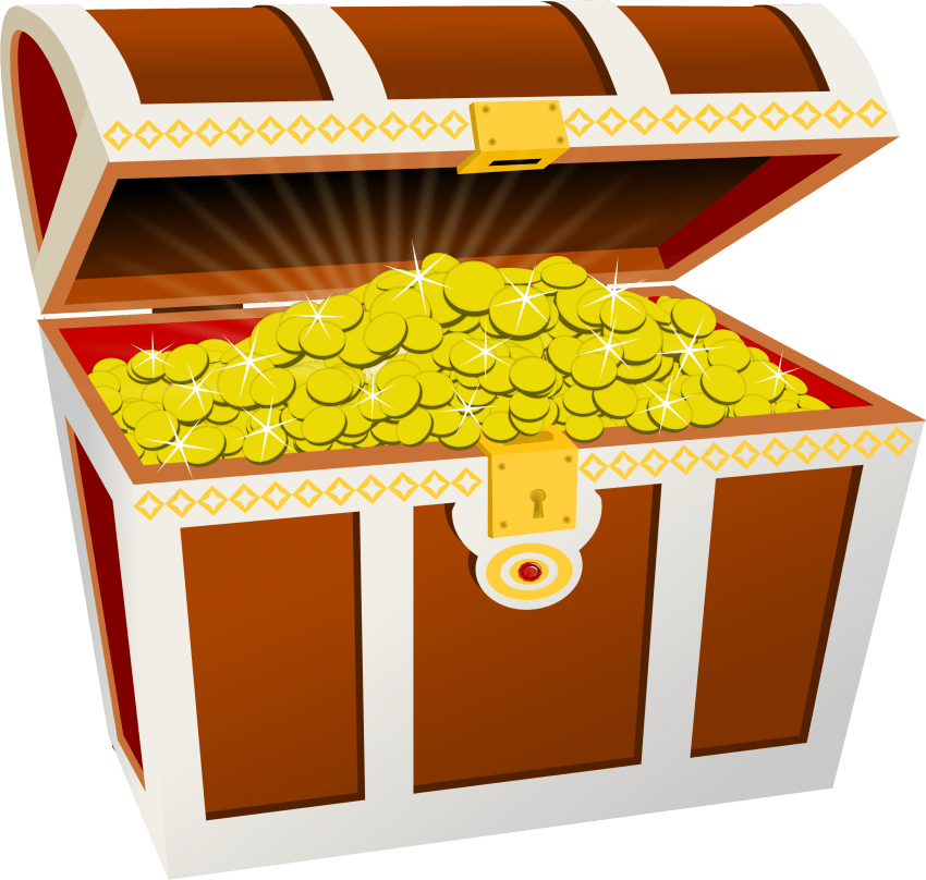 Treasure clipart transparent background. Chest images png free