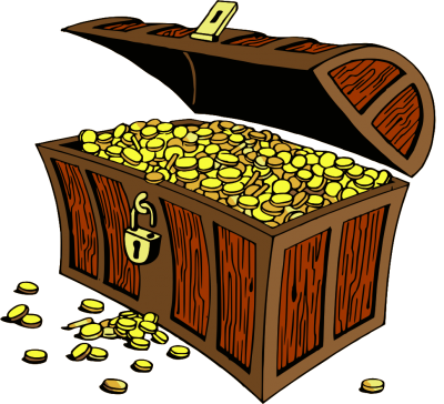 Treasure clipart transparent background. Download free png image