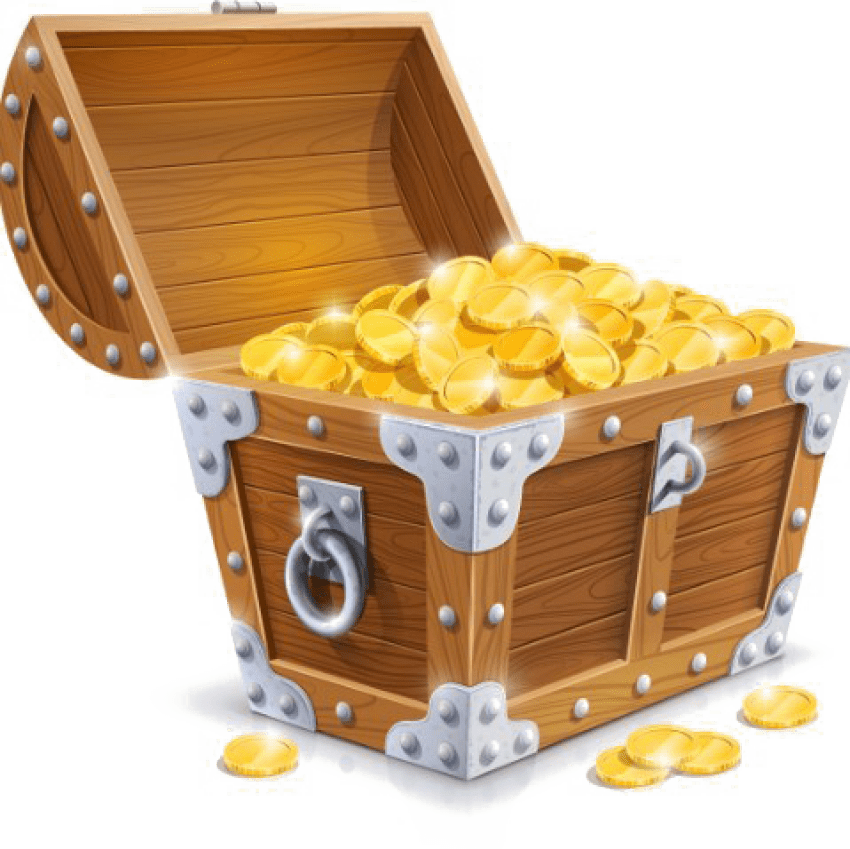 Treasure clipart transparent background. Chest free png toppng