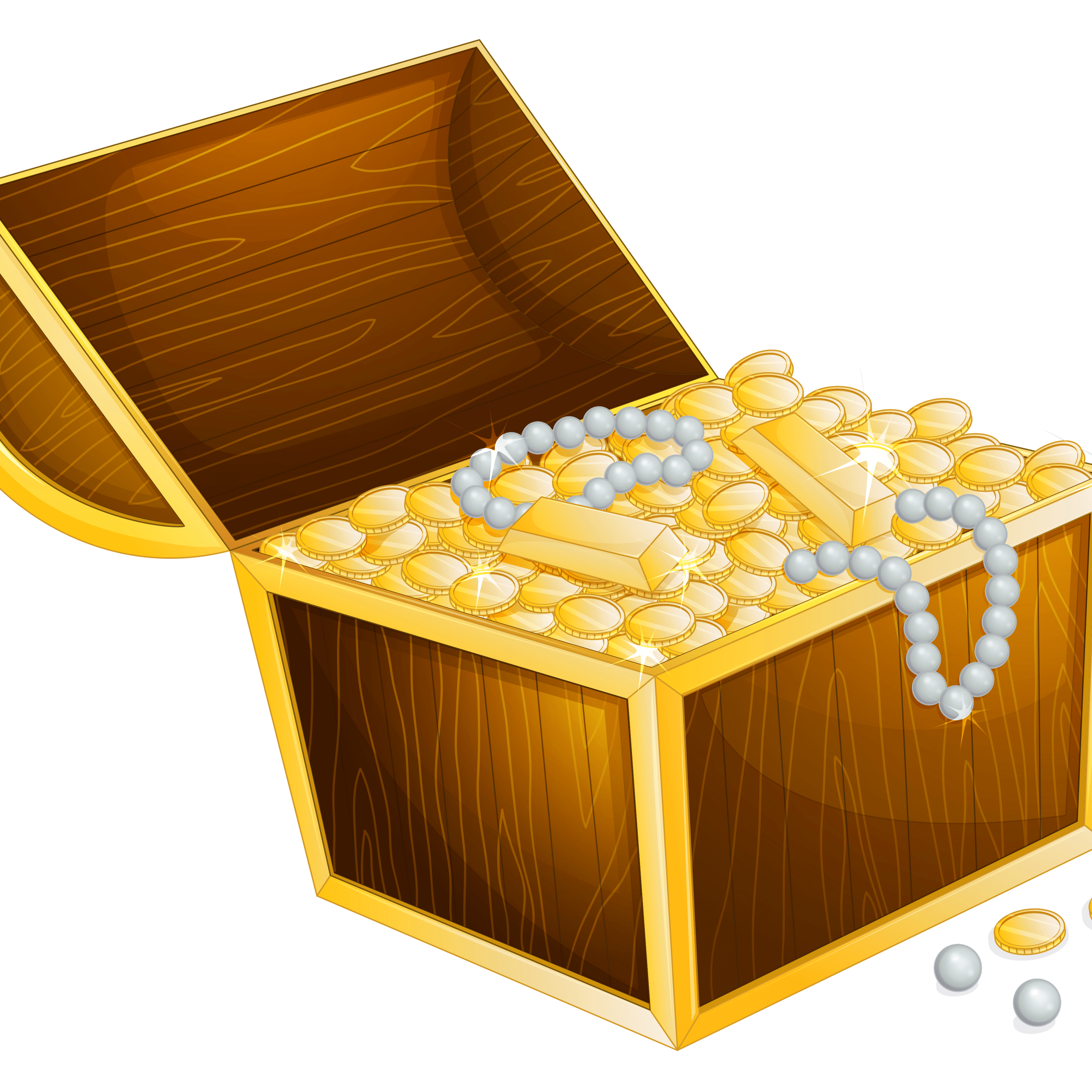 Treasure clipart transparent background. Png stickpng