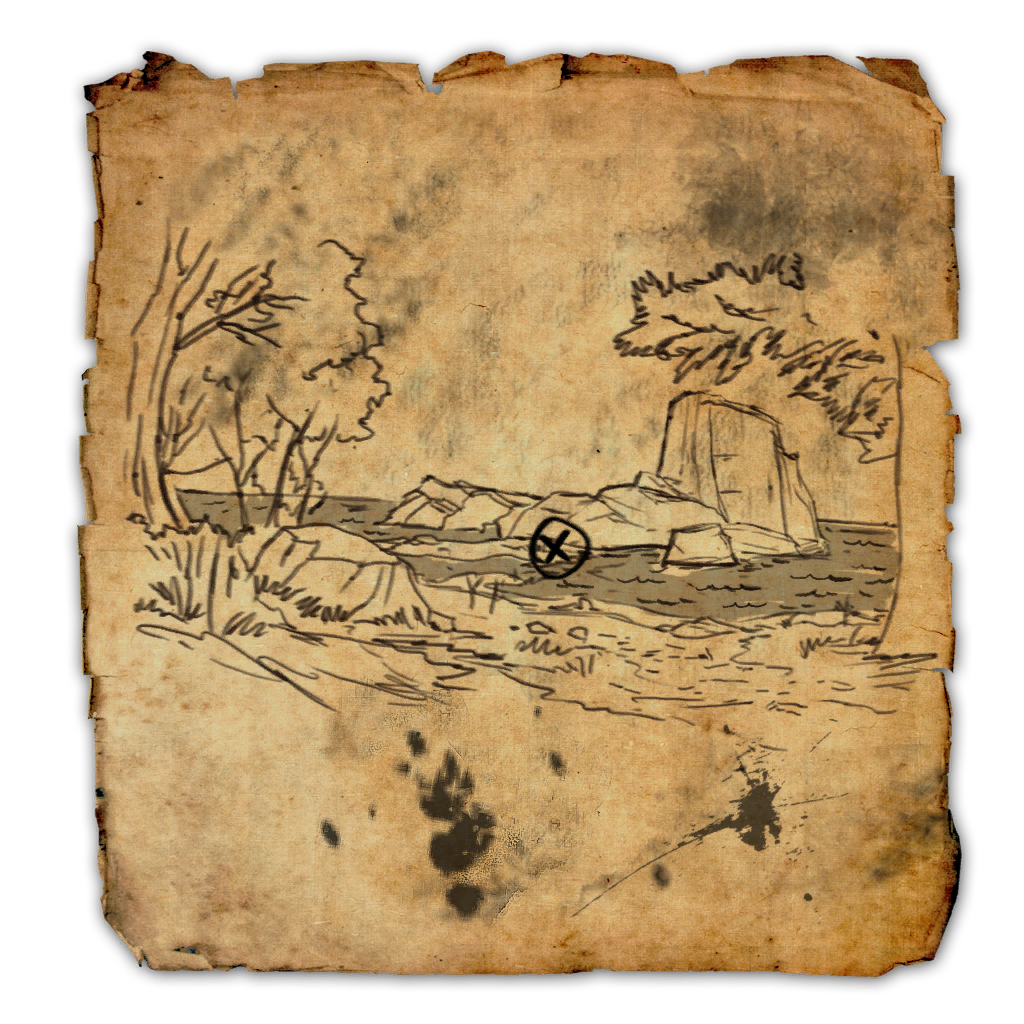 Treasure map png. Betnikh ii elder scrolls