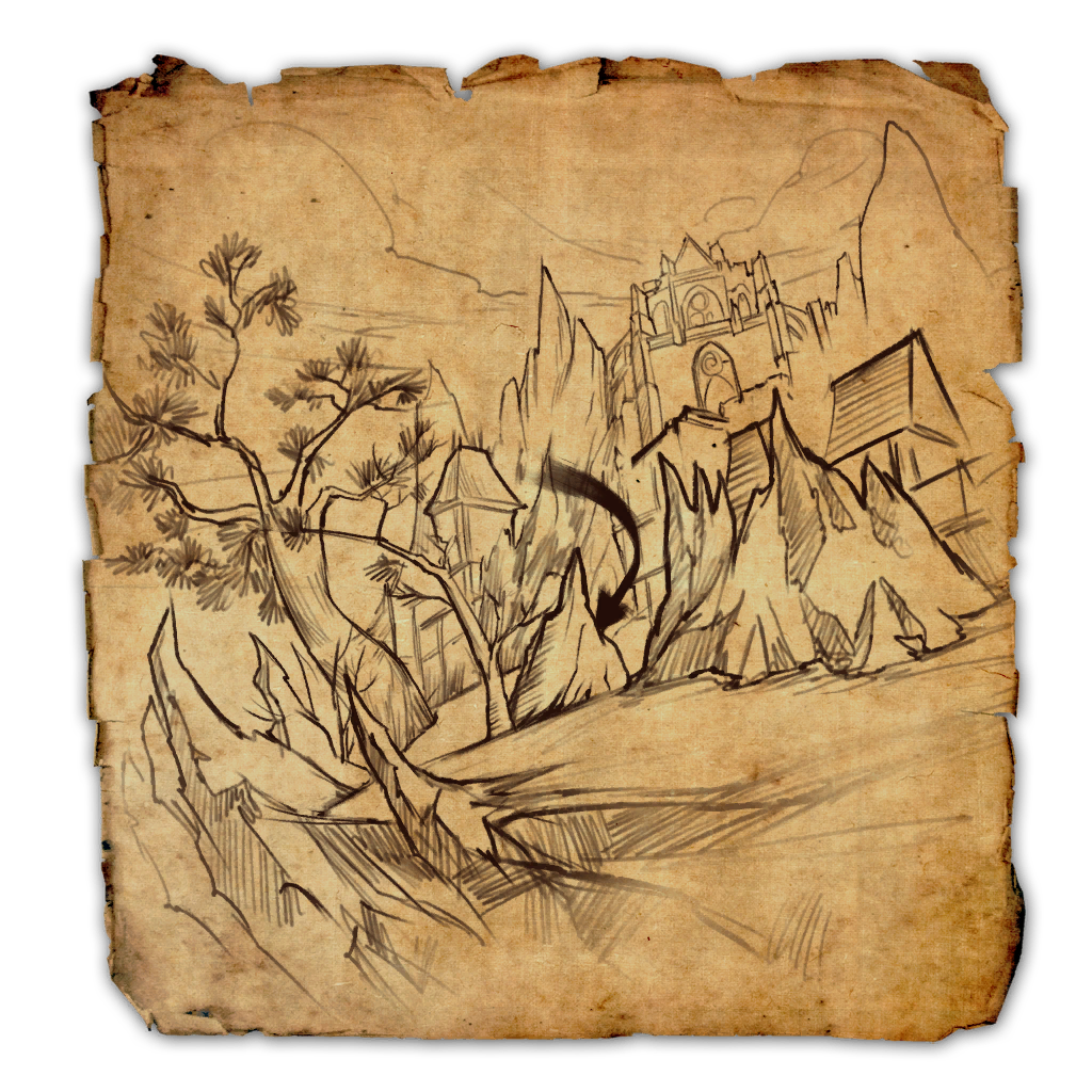 Treasure map png. Coldharbour vi elder scrolls