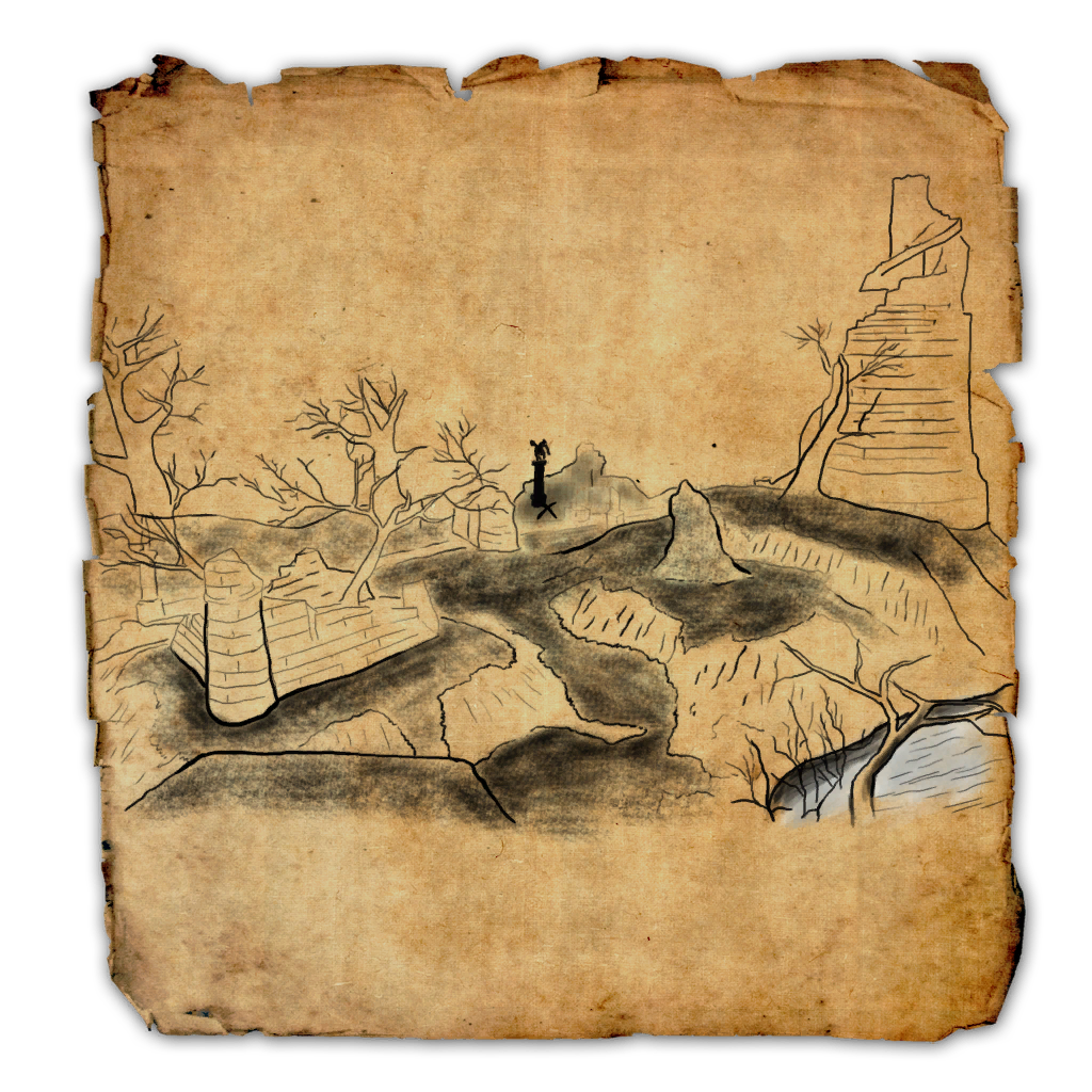 Treasure map png. Glenumbra ce elder scrolls