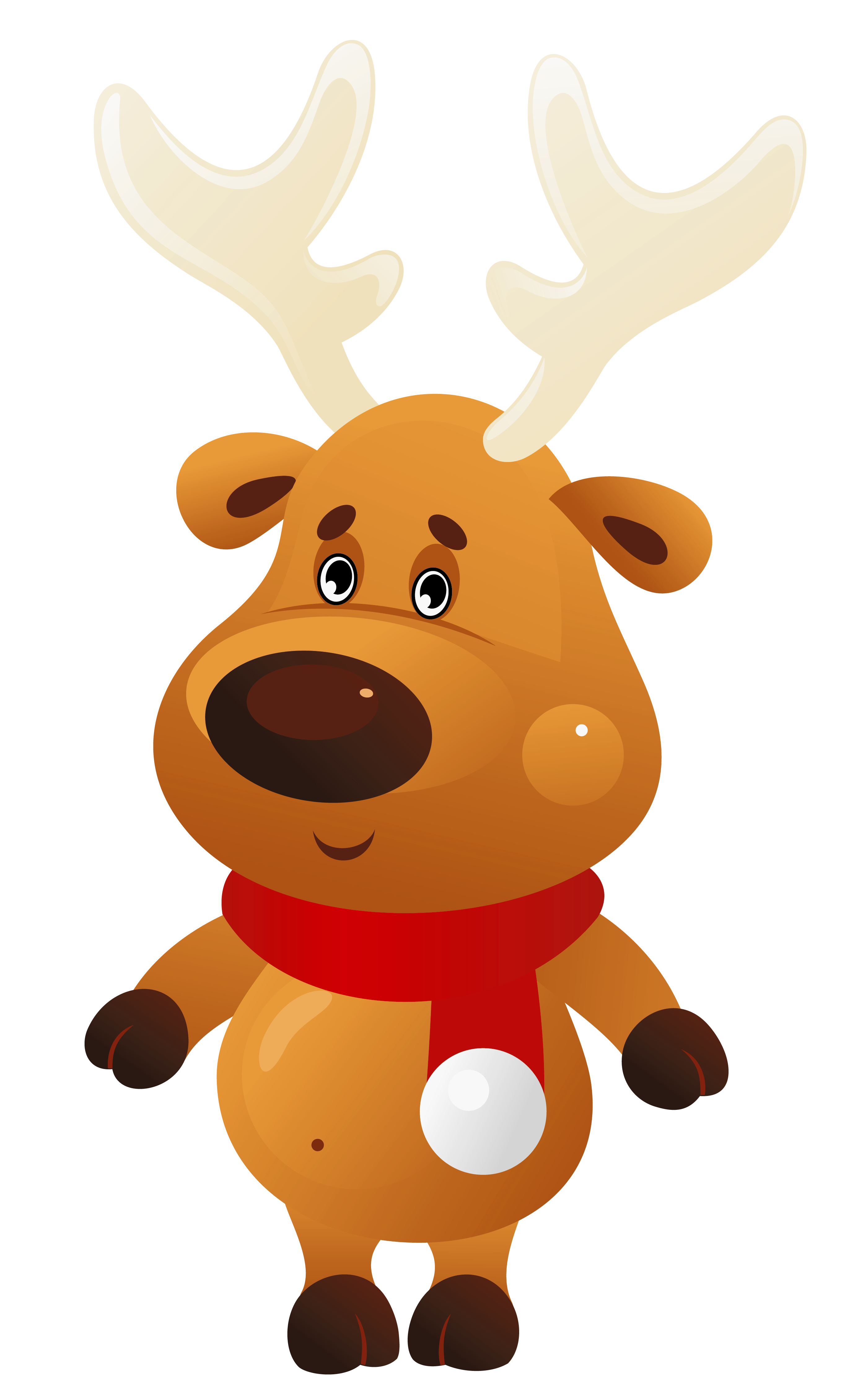 Reindeer clipart png. Christmas group cute with