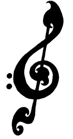 Treble clef clipart love tattoo. Bass and free