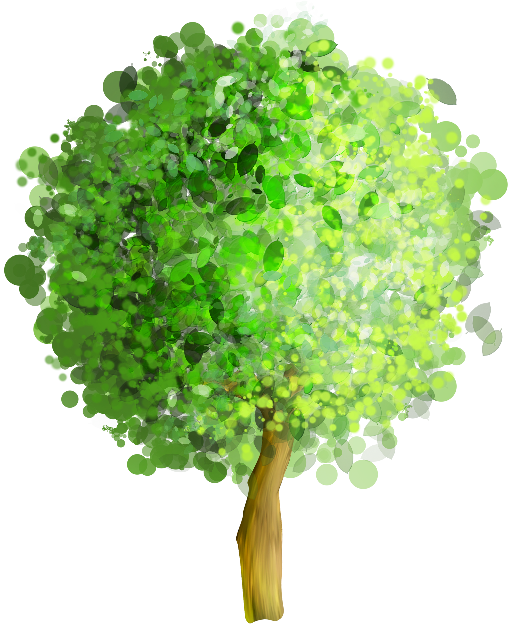 Tree art png. Green clipart gallery yopriceville
