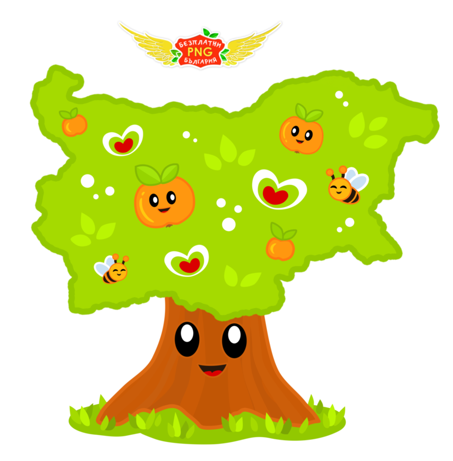 Bulgaria free by golddawn. Tree cartoon png graphic free library