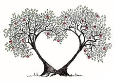 Tree clipart heart. This would make a