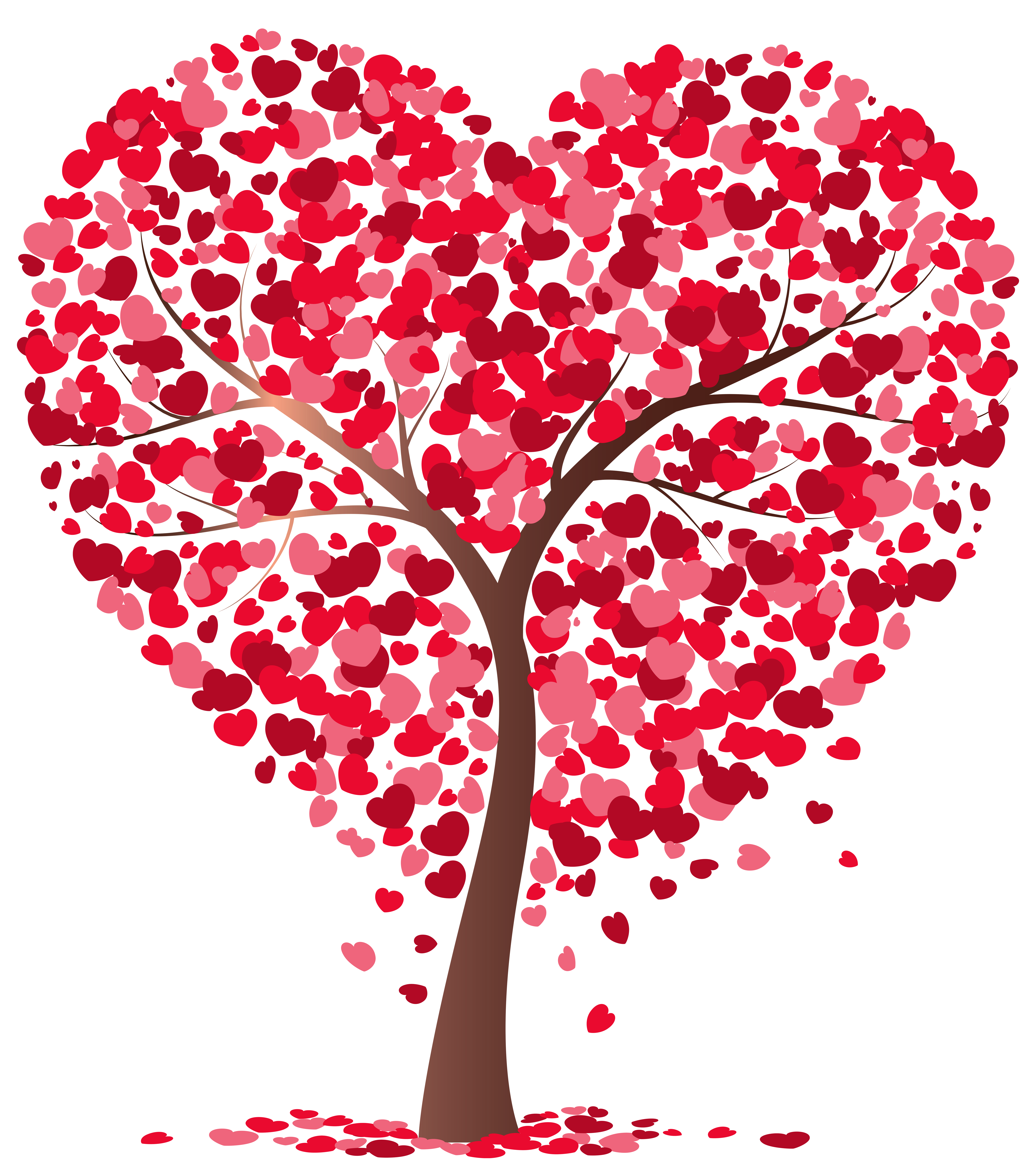 Tree clipart heart. Transparent png image gallery