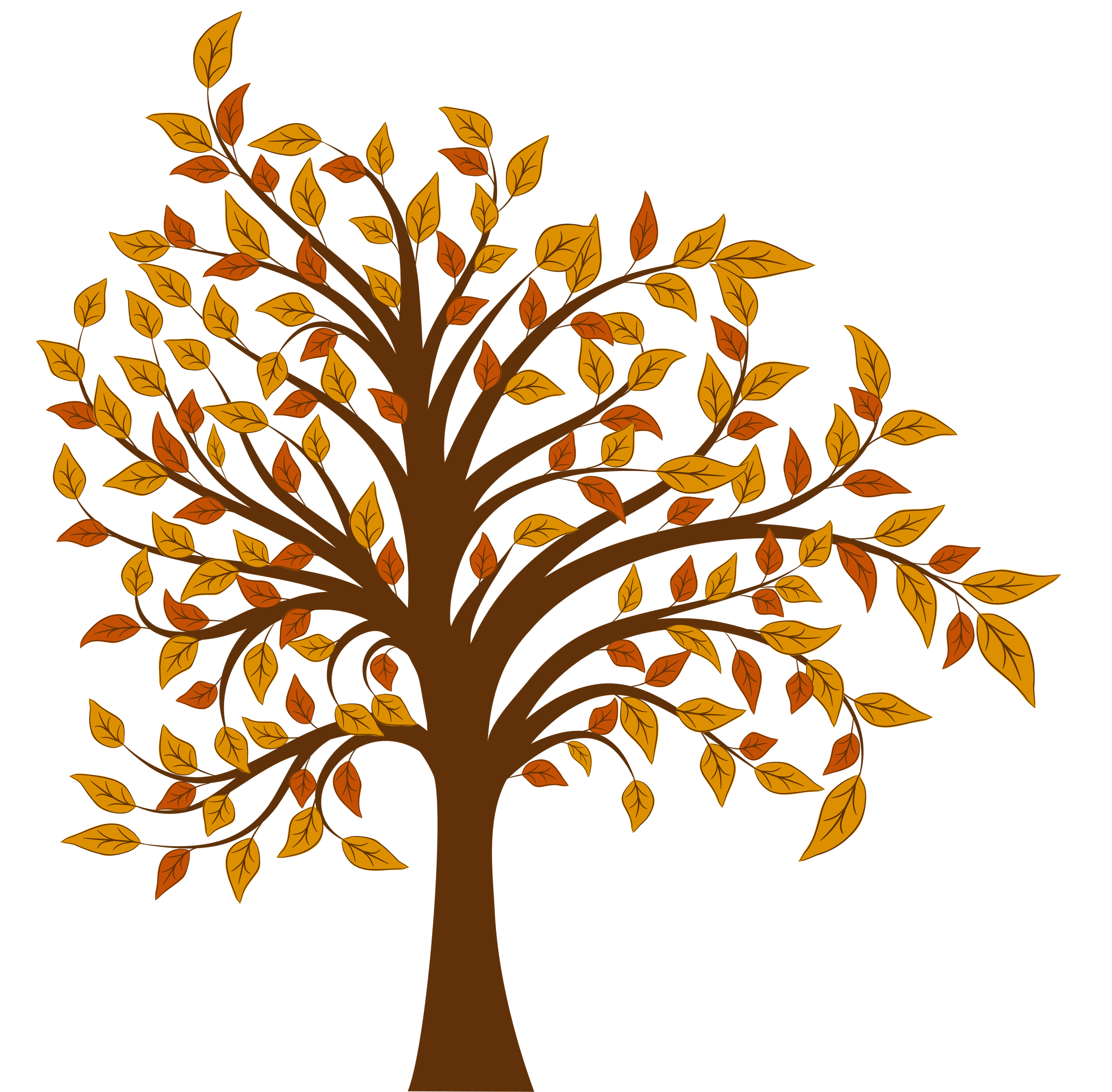fall tree branch png