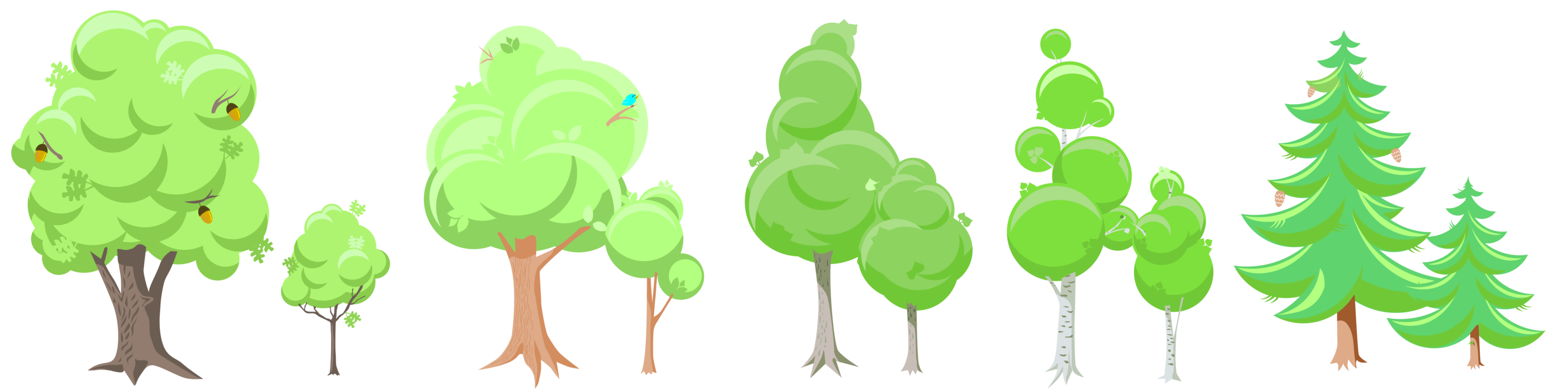 Tree clipart woodland. Christmas document forest free