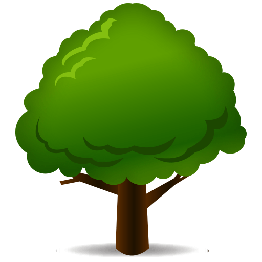 Tree emoji png. Deciduous for facebook email