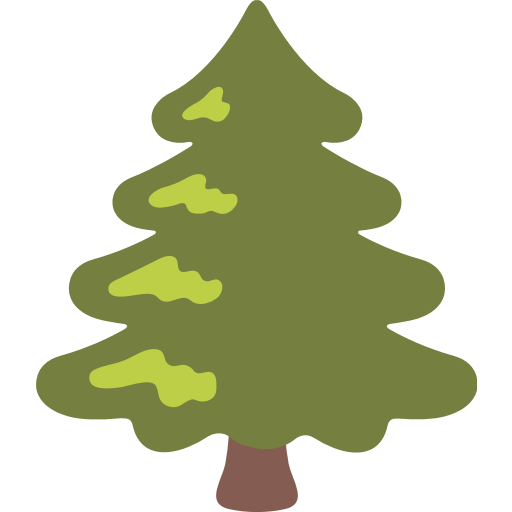 Tree emoji png. Evergreen for facebook email