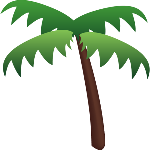 Tree emoji png. Download palm icon island