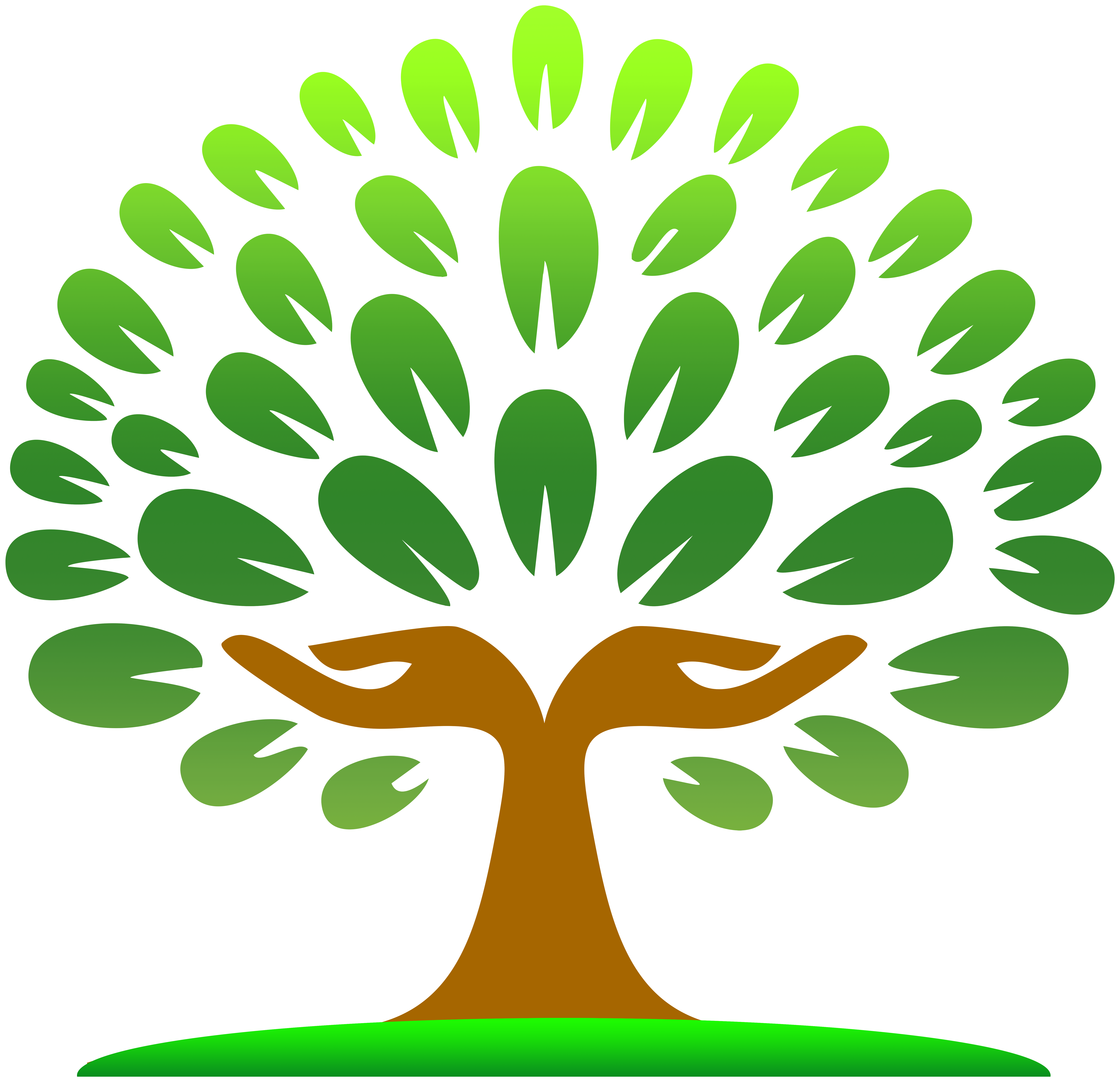 Tree graphic png. Hands clipart best web