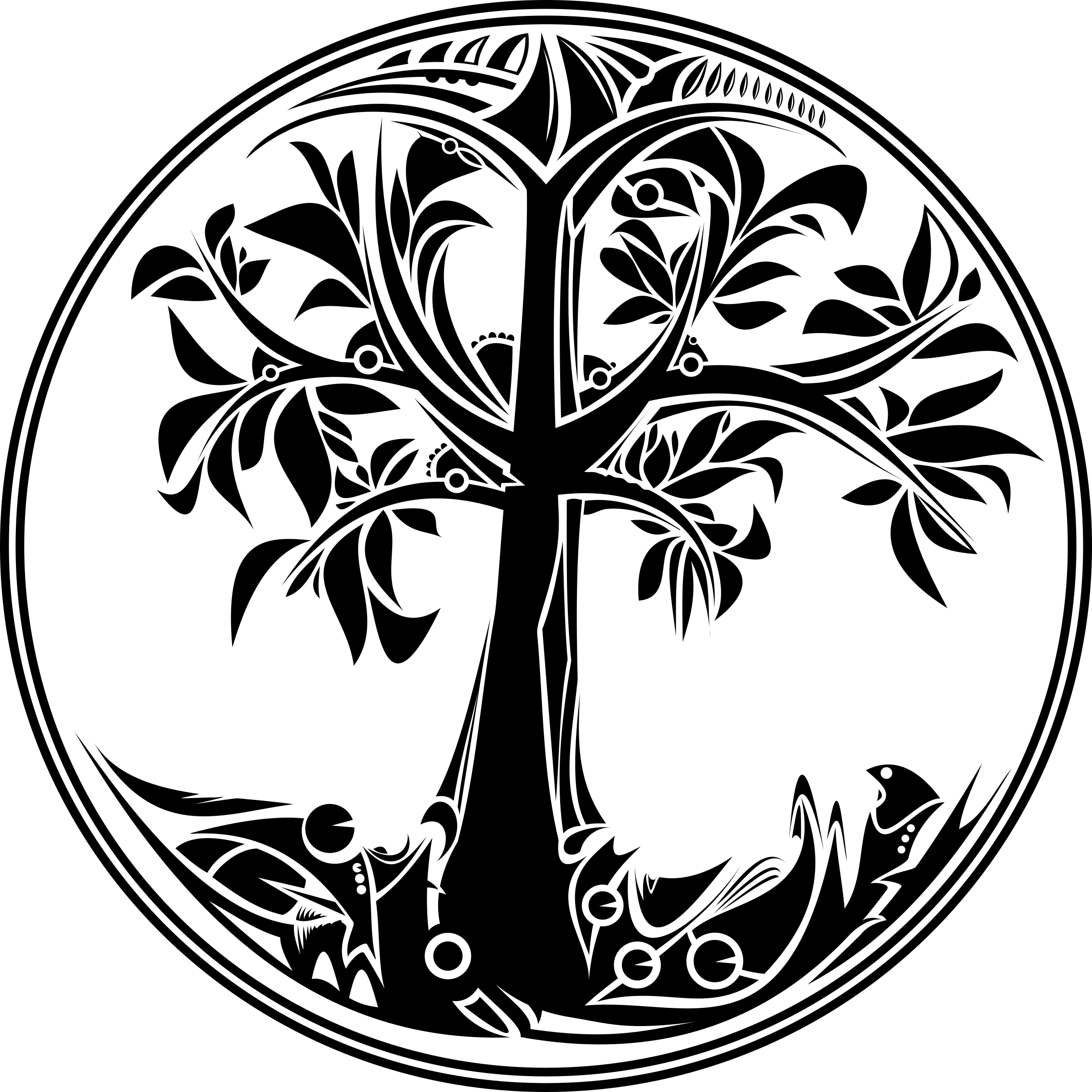 Tree of life png. Collection drawing high